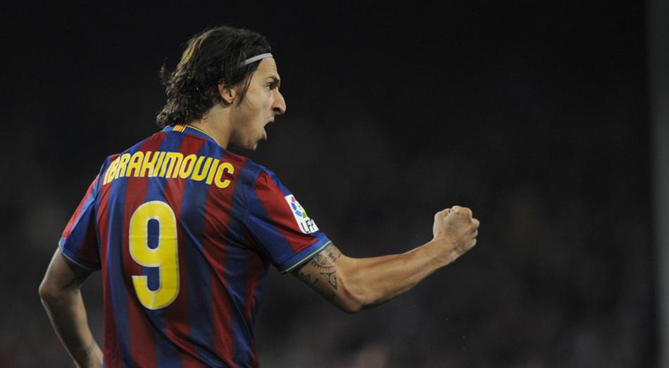 Zlatan's Ibrahimovic in Barcelona